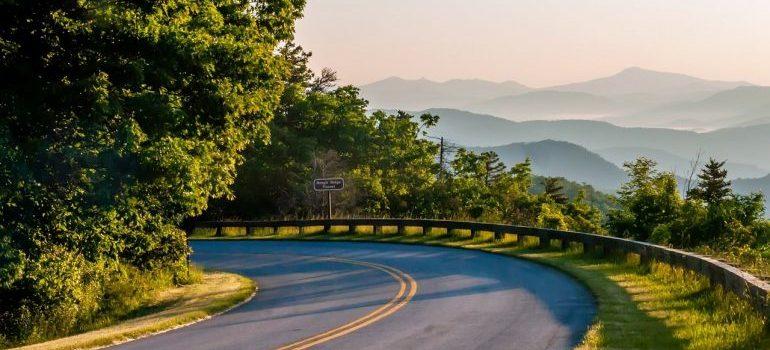 Road in North Carolina