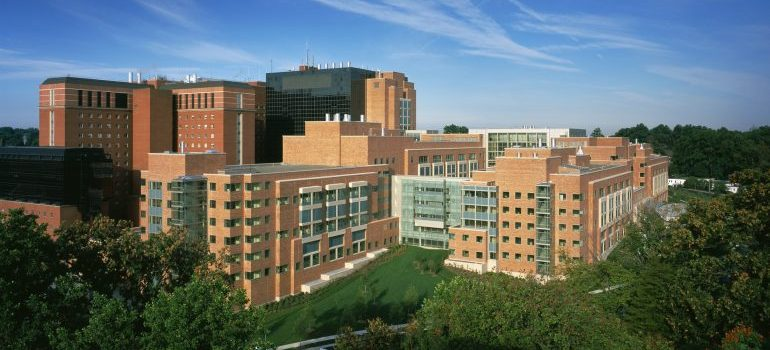 NIH Clinical Center in Bethesda, MD