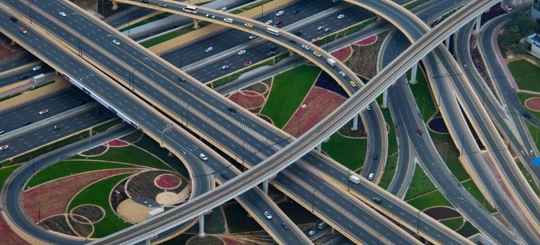 complex highway