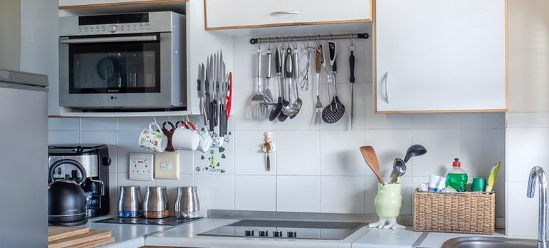 kitchen with various kitchen items