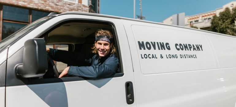 Van for moving from Chevy Chase to Clarksburg