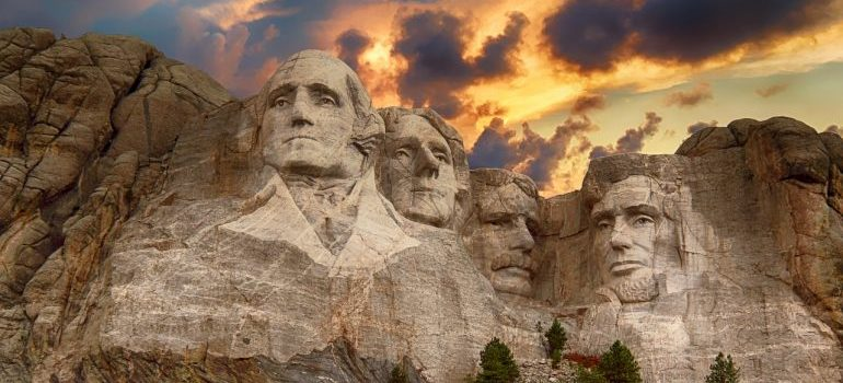 Mount Rushmore and the city's history is one of the reasons seniors move to DC